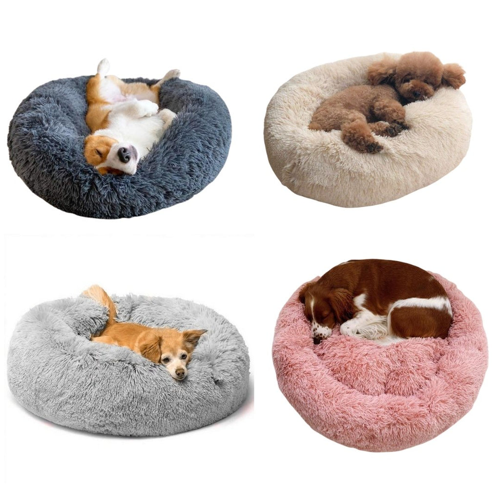 Cosy Calming Dog Bed - Waggy Tails