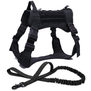 Tactical No Pull Dog Harness - Waggy Tails
