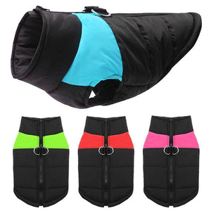 Warm Waterproof Dog Coat - Waggy Tails