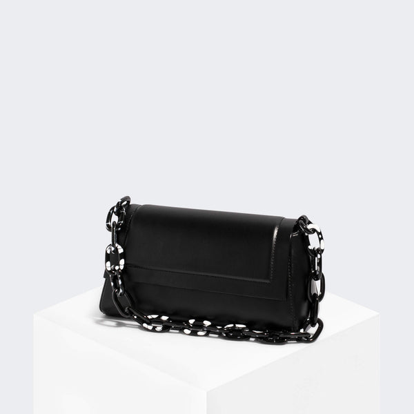 House Of Want HOW WE FASHION Shoulder Bag Black Texture - front