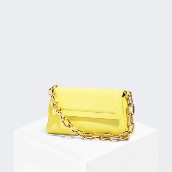 House Of Want HOW WE FASHION Shoulder Bag Lemon - front
