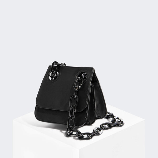House Of Want HOW WE ARE ORIGINAL Shoulder Bag Black Texture - front