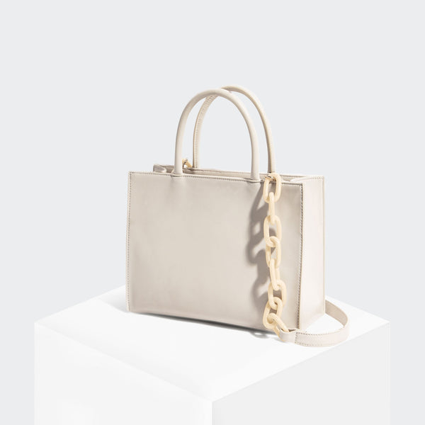House Of Want HOW WE GRAM Small Tote Ecru - front