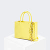 House Of Want HOW WE GRAM Small Tote Lemon - front