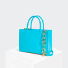 House Of Want HOW WE GRAM Small Tote Sea Blue - front