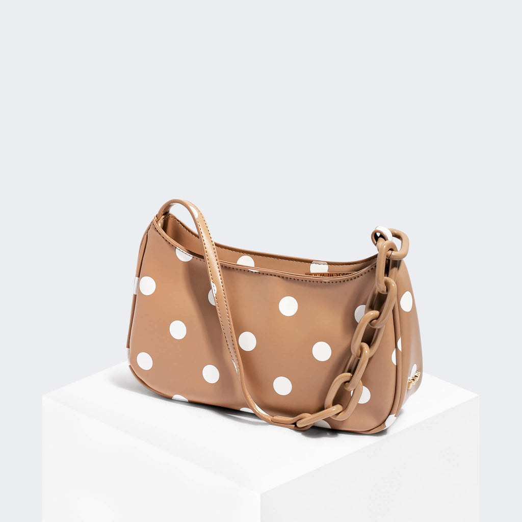 House Of Want NEWBIE Baguette Polka Dot - front