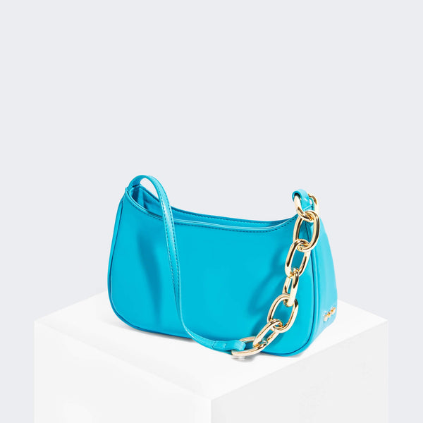 House Of Want NEWBIE Baguette Sea Blue - front