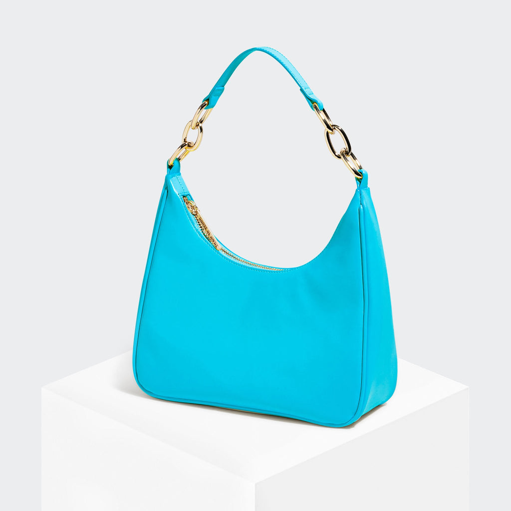 House Of Want NEWBIE Hobo Sea Blue - front