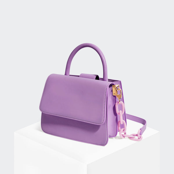 House Of Want NEWBIE Satchel Lavender - front