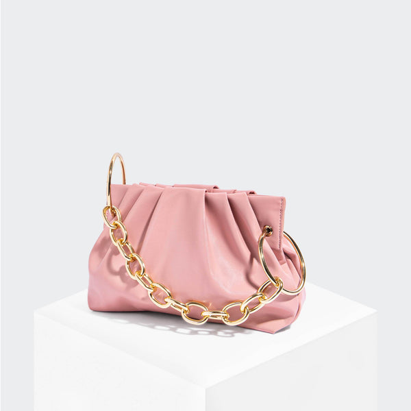 House Of Want CHILL Framed Clutch Pink - front