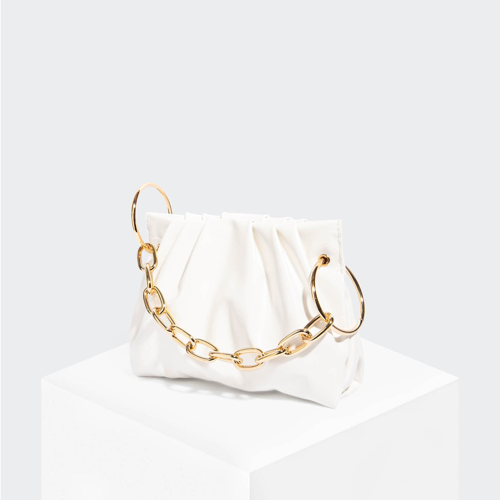 House Of Want CHILL Framed Clutch White - front