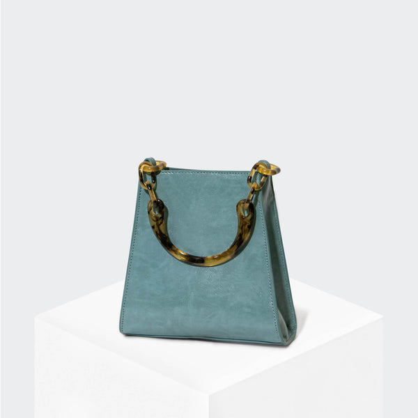 "HOUSE OF WANT ""Glow Up"" Mini Bucket Cadet Blue - front"