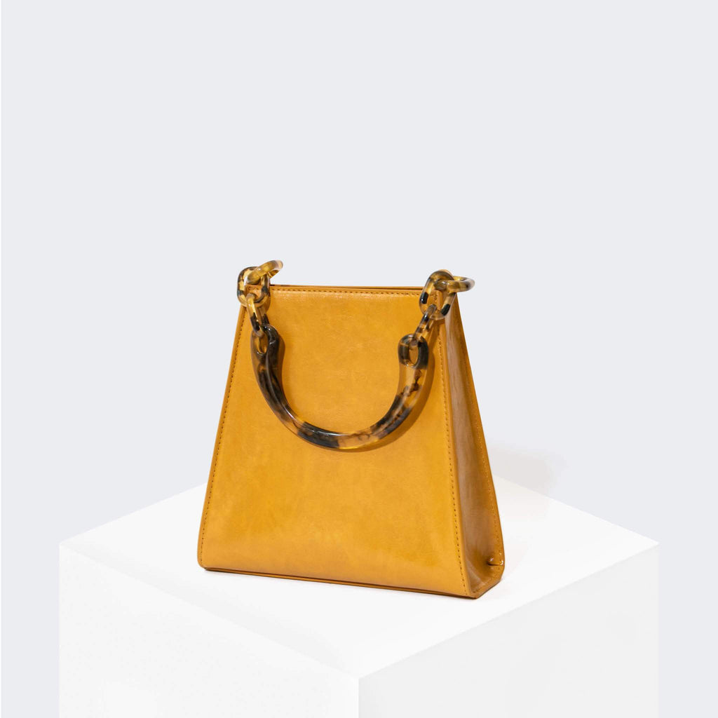 "HOUSE OF WANT ""Glow Up"" Mini Bucket Golden Yellow - front"