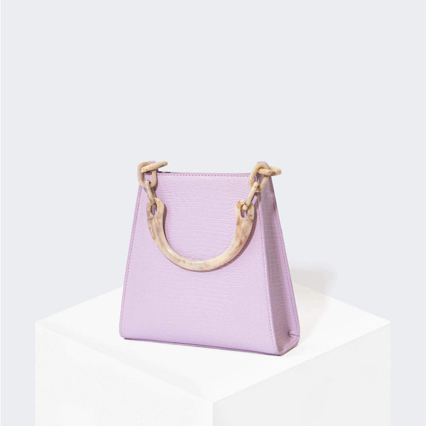 "HOUSE OF WANT ""Glow Up"" Mini Bucket Lavender Lizard - front"