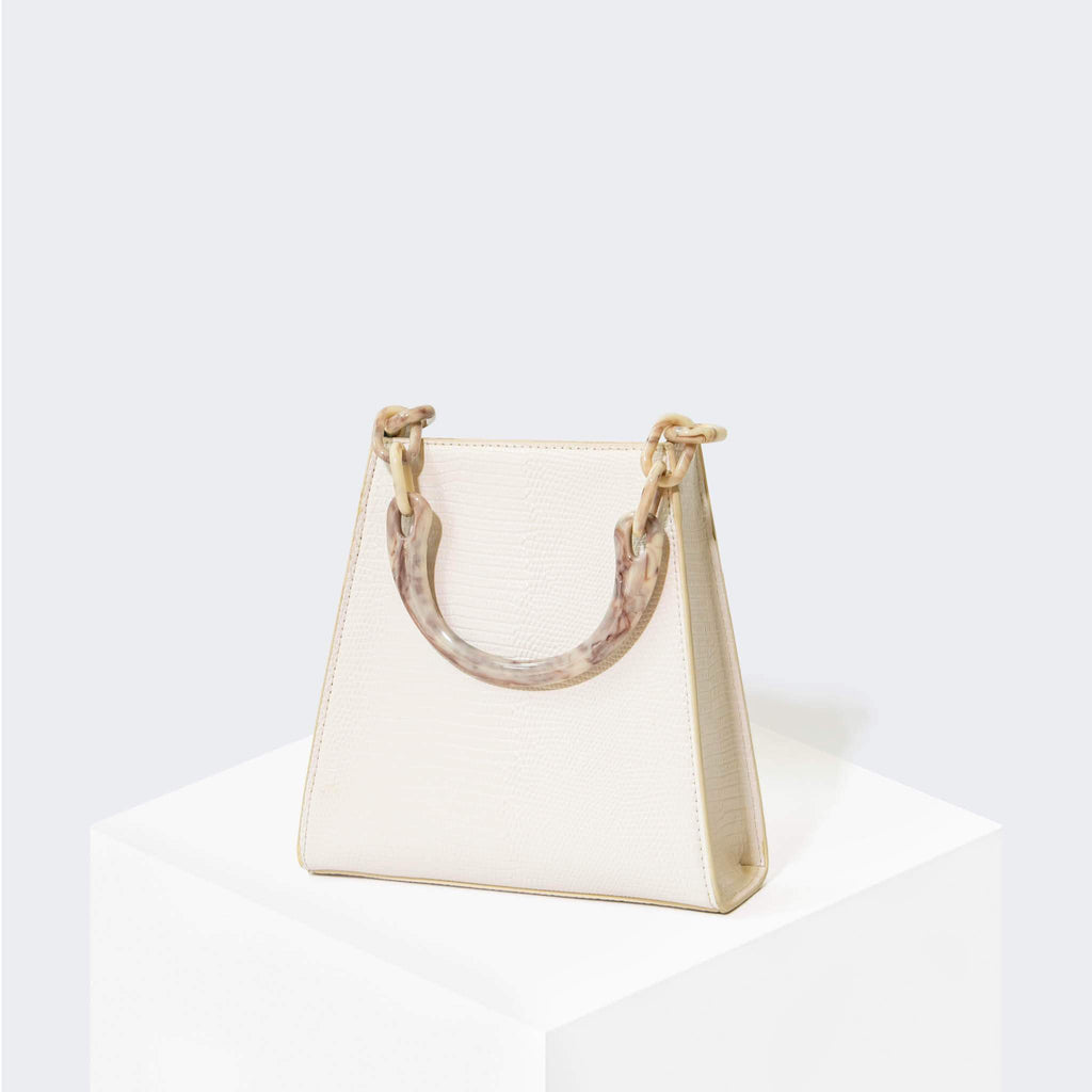 "HOUSE OF WANT ""Glow Up"" Mini Bucket White Lizard - front"