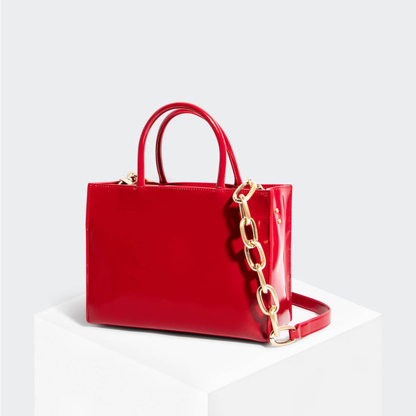 House Of Want HOW WE GRAM Small Tote Red - front