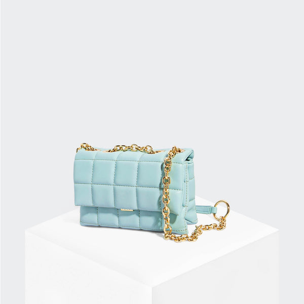 House Of Want HOW WE SLAY Small Shoulder Bag Ice Blue - front