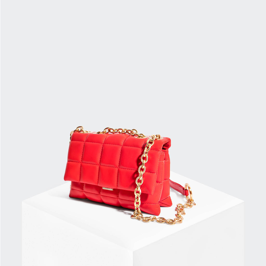 House Of Want HOW WE SLAY Small Shoulder Bag Red - front