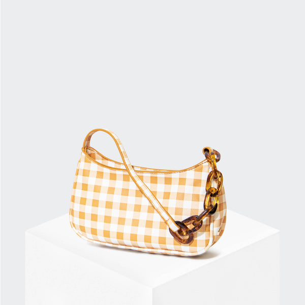 "HOUSE OF WANT ""Newbie"" Baguette Gingham - front"