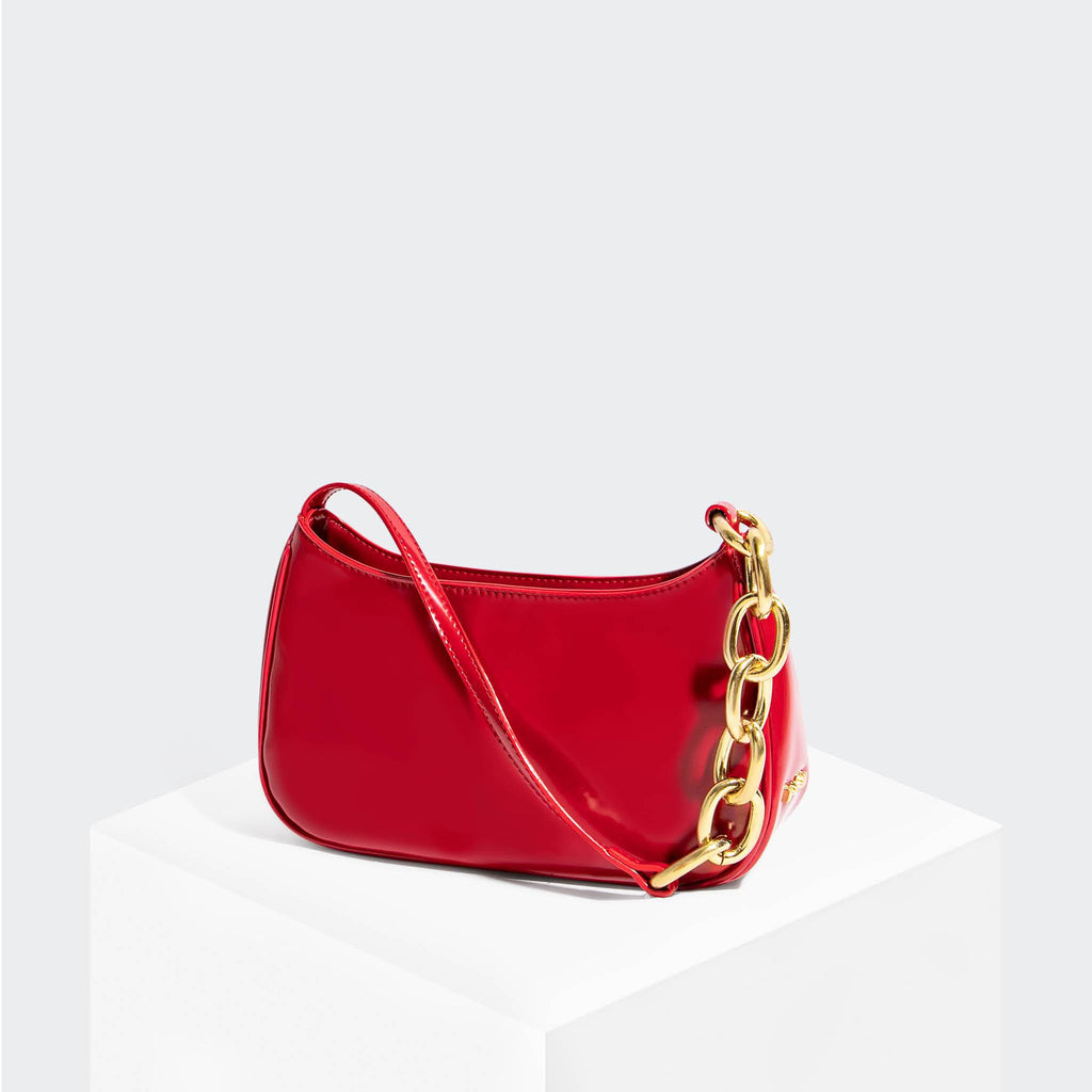 House Of Want NEWBIE Baguette Red - front