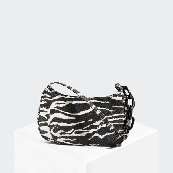 "House Of Want ""Newbie"" Baguette Zebra - front"