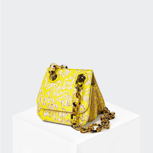 HOUSE OF WANT HOW WE ARE ORIGINAL Shoulder Flap Citrine - front