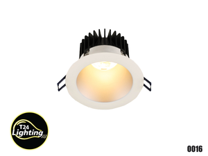 Lotus 4″ ROUND DEEP REGRESSED LED  Dimmable (LD4R-30K-4R)