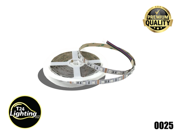 ABBA LED RGB-Strip 5050 60LED Light Indoor Only  11W