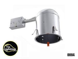 "AH 6"" LED Recessed Can Remodel Housing"