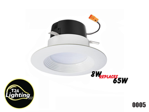 "PTR 4"" Trim LED Retro Fit Downlight Tunnable, Dimmable"
