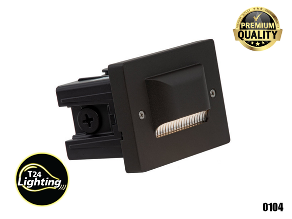 Lumien Small Recessed Integrated LED Step Light Bronze (ST-AC-30K)