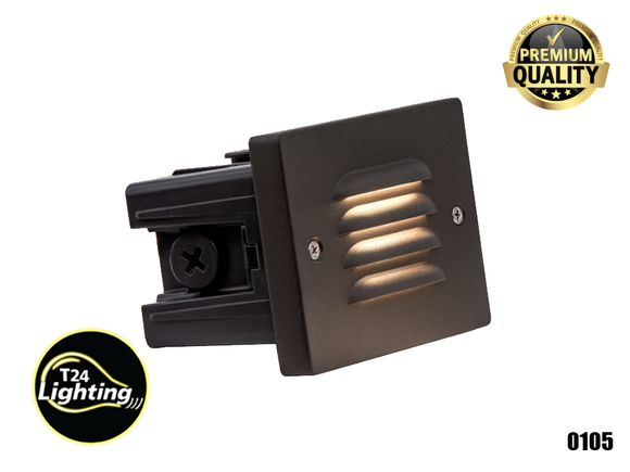 Lumien Small Recessed Integrated LED Step Light Grill (ST-BC-30K)