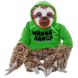 Snax the Sloth Hoodies