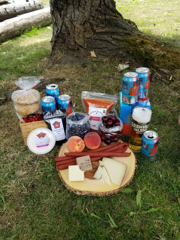 Picnic featuring Granville Island Brewing Beer