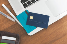 Photo of credit cards and keyboard for online shopping