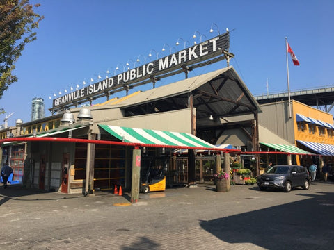 Granville Island Public Market Full Colour Photos with Signage