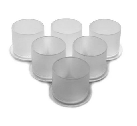 Ink Caps/Cups Top Hat Stable Base - 17mm