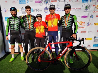 Cyclocross: two national champions on Repente saddles