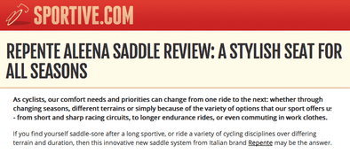 REPENTE ALEENA SADDLE REVIEW: A STYLISH SEAT FOR ALL SEASONS