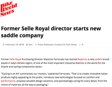 Former Selle Royal director starts new saddle company