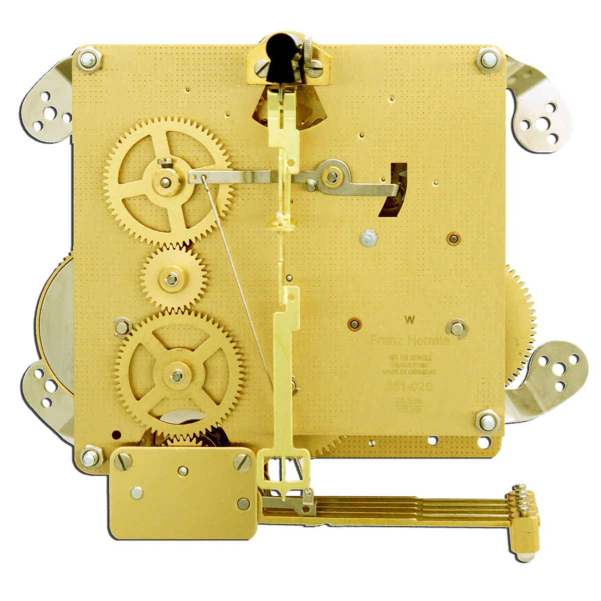 Hermle Clock Movement 351-020