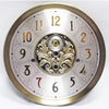 Dial 330mm Brushed Brass & Nickel
