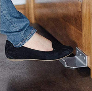 Foot-Operated Door Opener