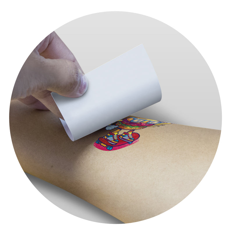 agogo Temporary Tattoo Foil - 51mm x 51mm