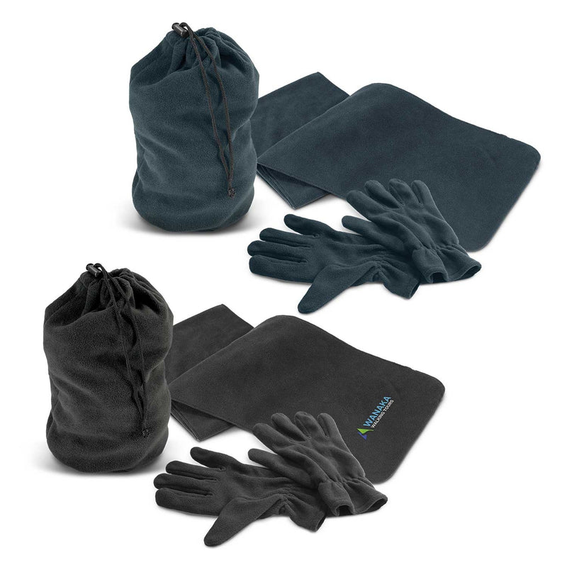 agogo Seattle Scarf and Gloves Set