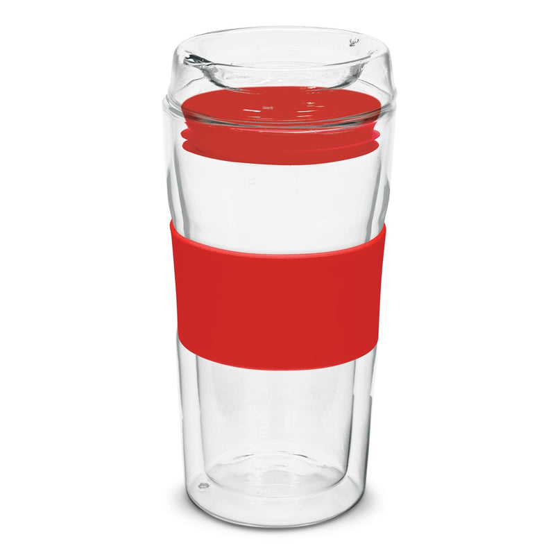 agogo Divino Double Wall Glass Cup