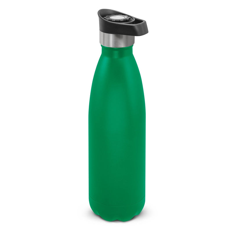 agogo Mirage Powder Coated Vacuum Bottle - Push Button Lid