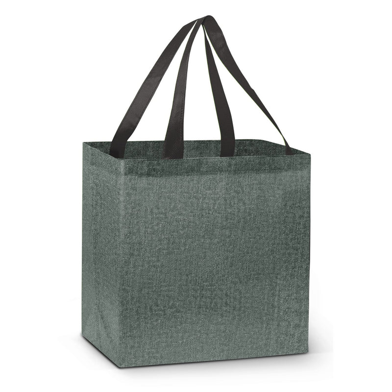 agogo City Shopper Heather Tote Bag
