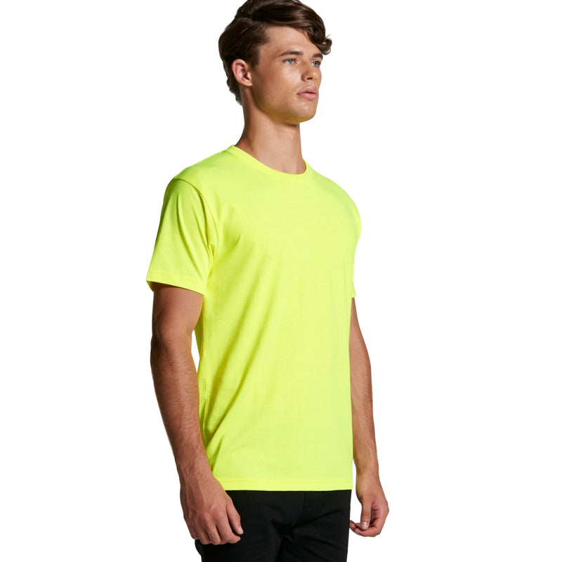 AS Colour Mens Block Tee (Safety Colours)