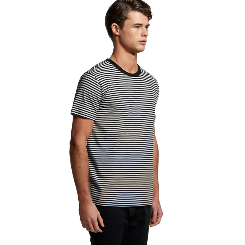 AS Colour Mens Bowery Stripe Tee